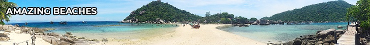 thefunkyturtle.com best beaches on koh tao