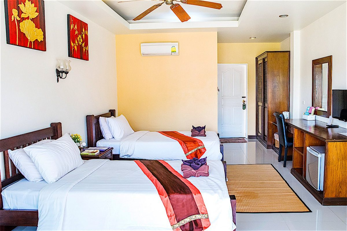 www.thefunkyturtle.com ananda villa hotel koh tao double rooms