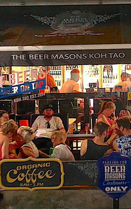 thefunkyturtle.com beermasons on koh tao