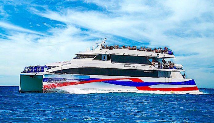 thefunkyturtle.com fast lomprayah ferries to koh tao