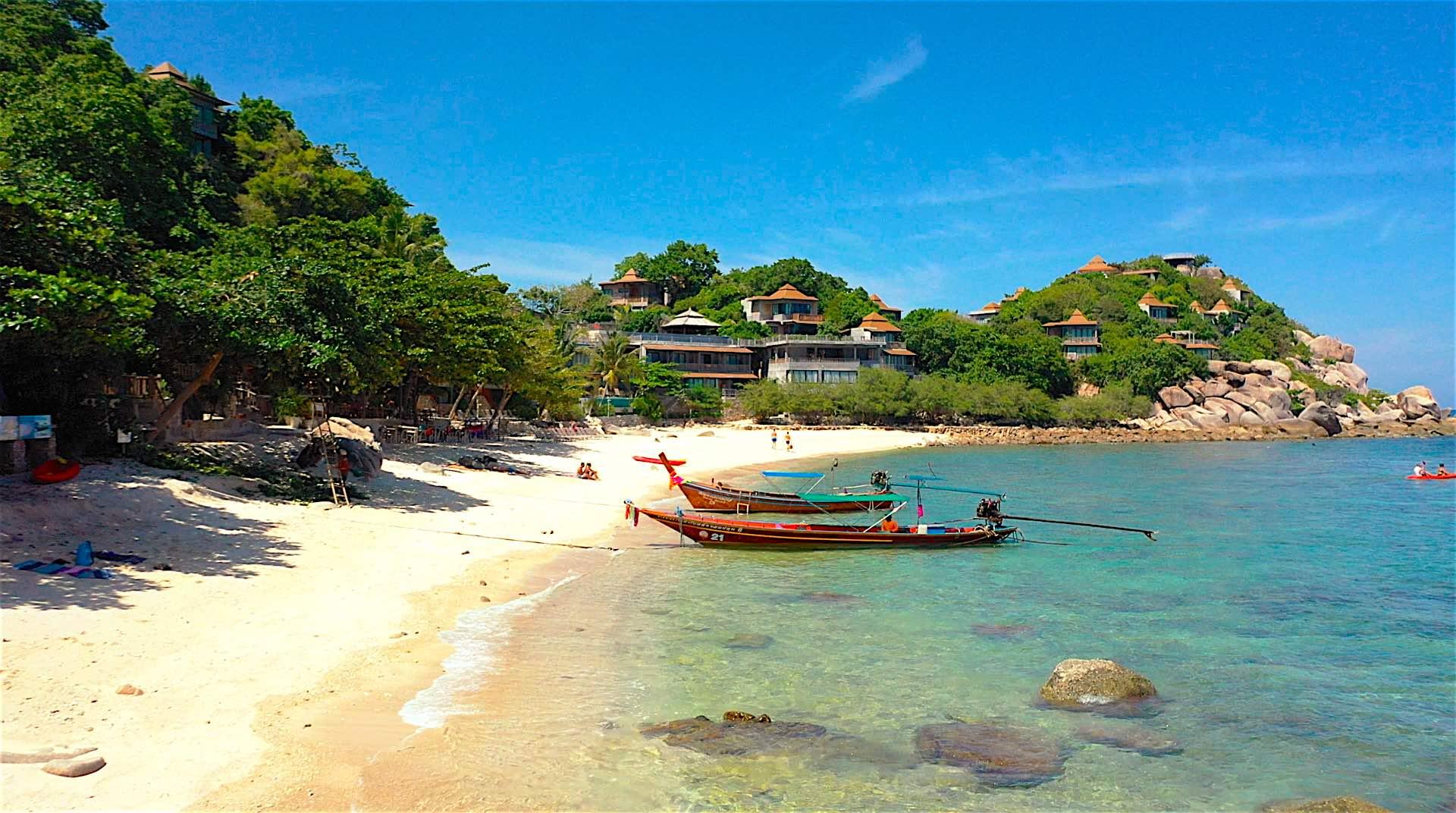www.thefunkyturtle.com saideng beach on koh tao island