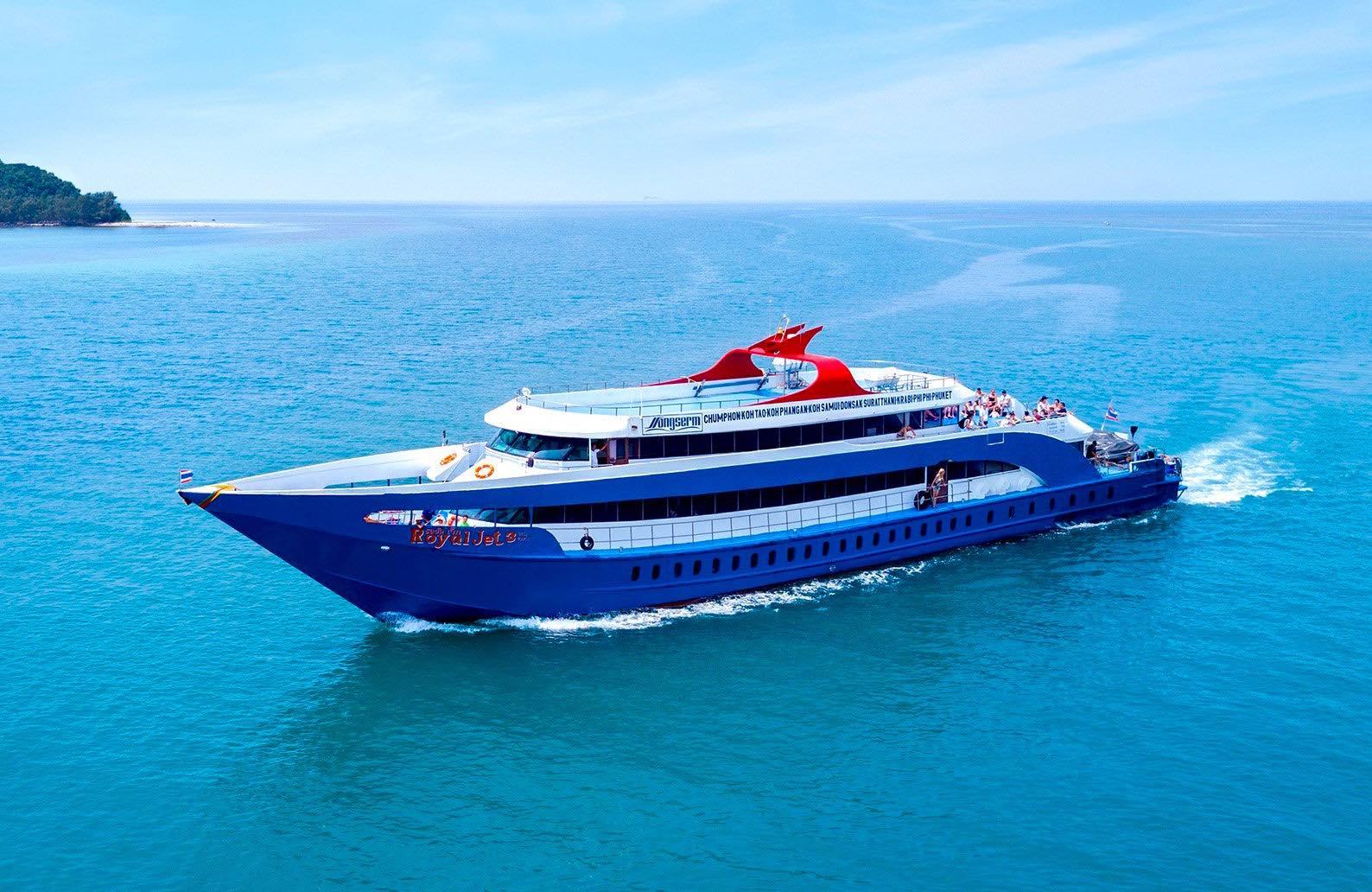www.thefunkyturtle.com songserm express ferry to koh tao