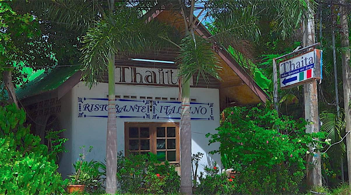 www.thefunkyturtle.com thaita italian restaurant on koh tao thailand