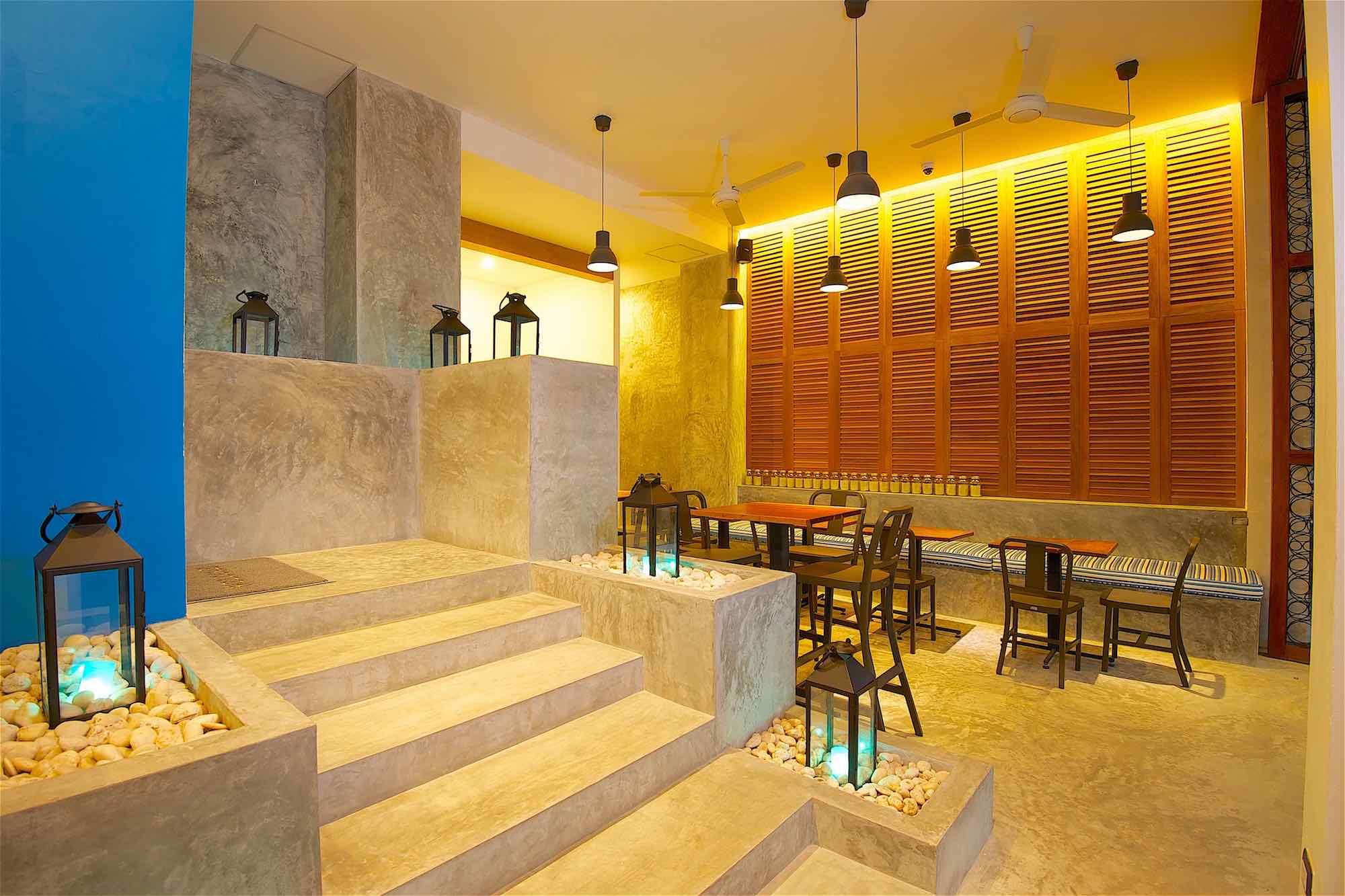 www.thefunkyturtle.com thalassa hotel sairee koh tao restaurant
