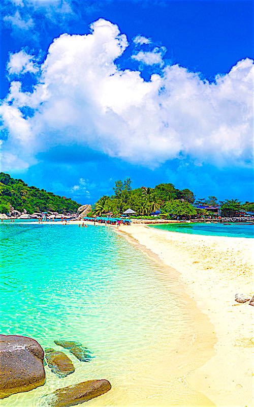 thefunkyturtle.com-koh-nangyuan-beach-koh-tao-in-thailand