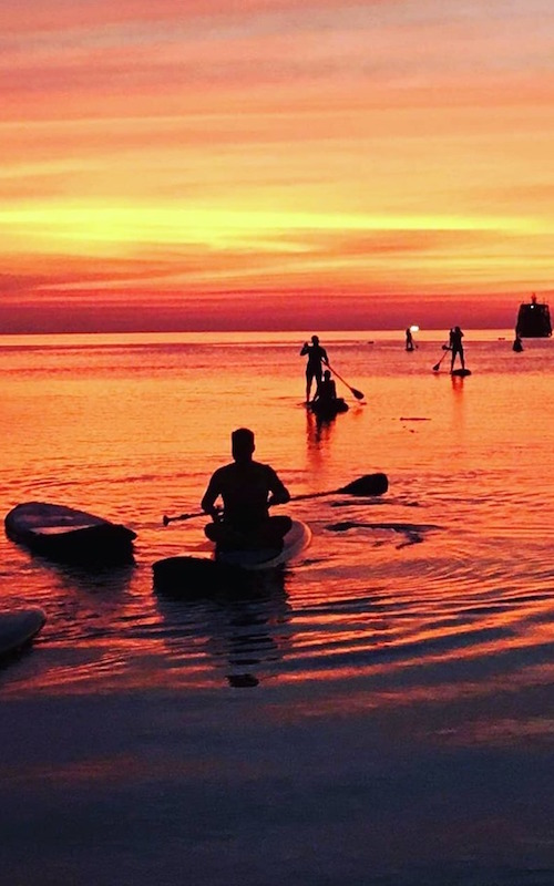 thefunkyturtle.com koh-tao-Paddle Boarding at Sunset