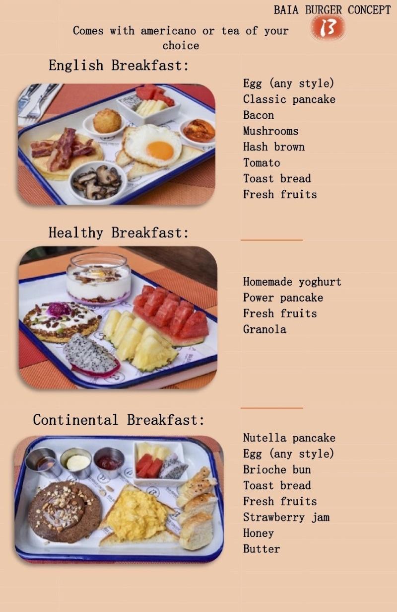 thefunkyturtle.com thalassa hotel sairee koh tao breakfast menu