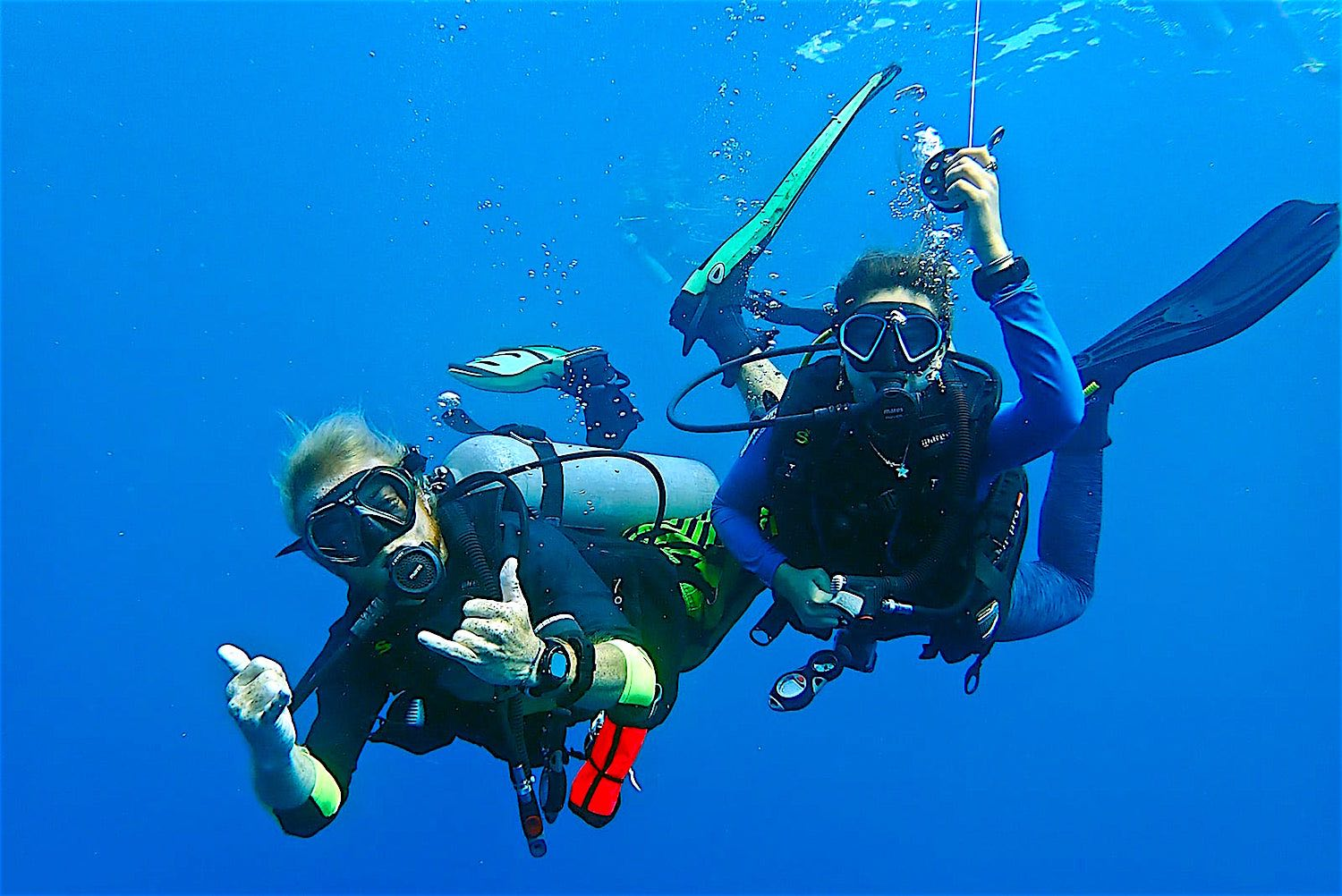 www.thefunkyturtle.com advanced diver course koh tao