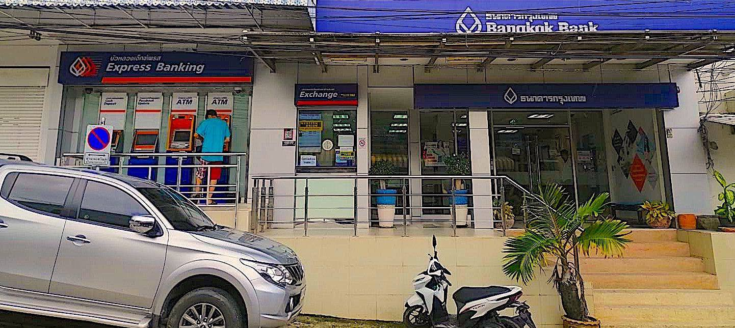 www.thefunkyturtle.com bangkok bank on koh tao