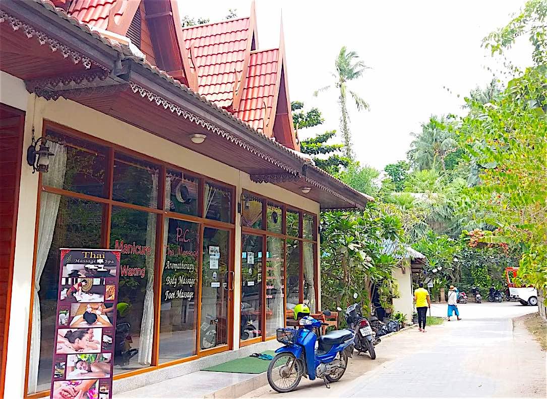 www.thefunkyturtle.com best massage koh tao thailand