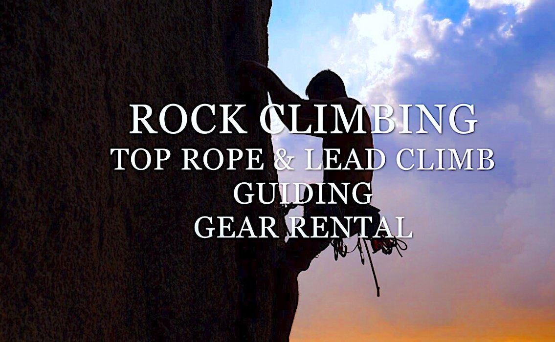 www.thefunkyturtle.com best rock climbing on koh tao