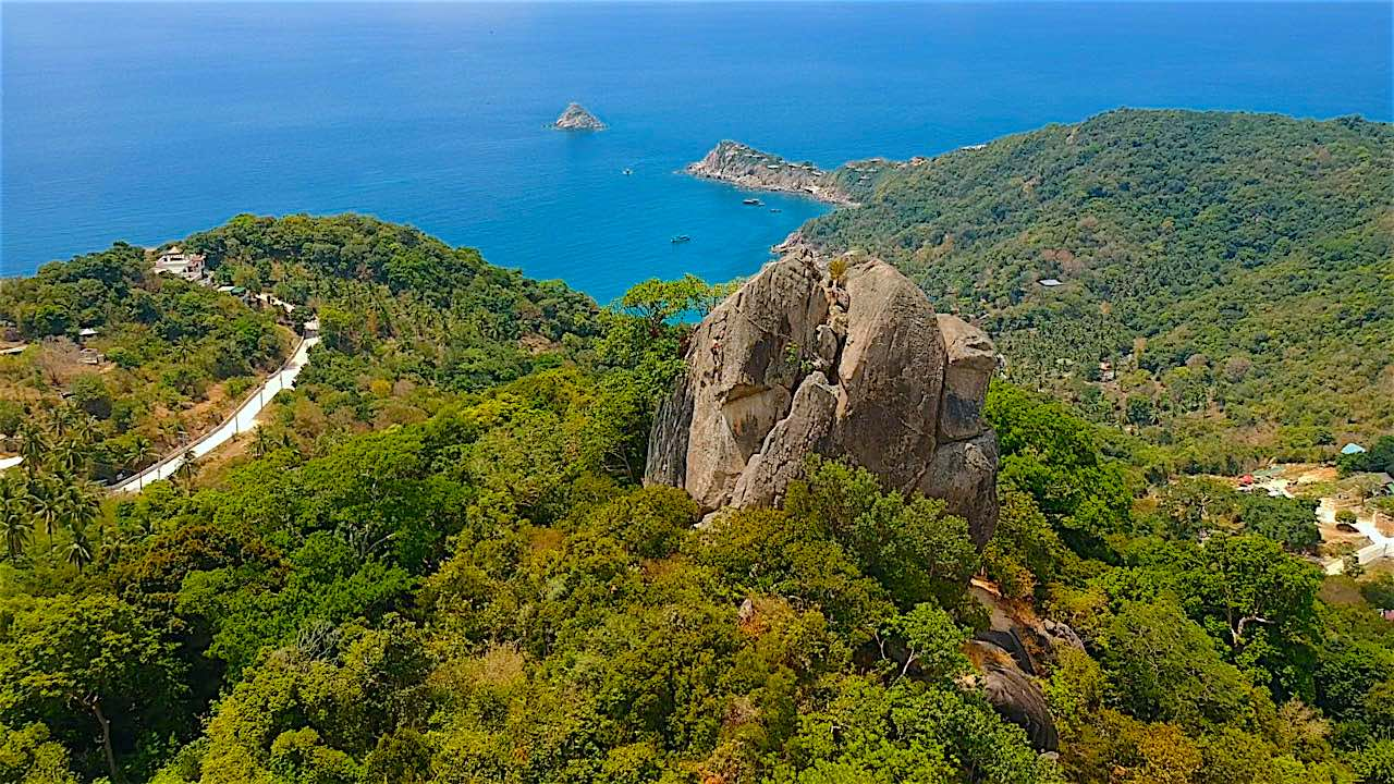 www.thefunkyturtle.com climbing lessons on koh tao