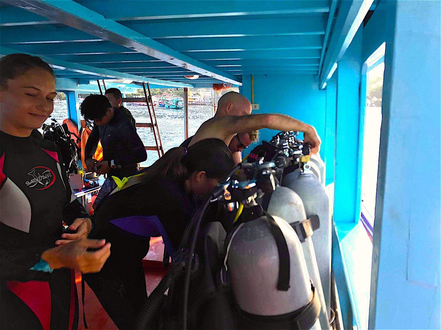 www.thefunkyturtle.com equipment specialty courses koh tao