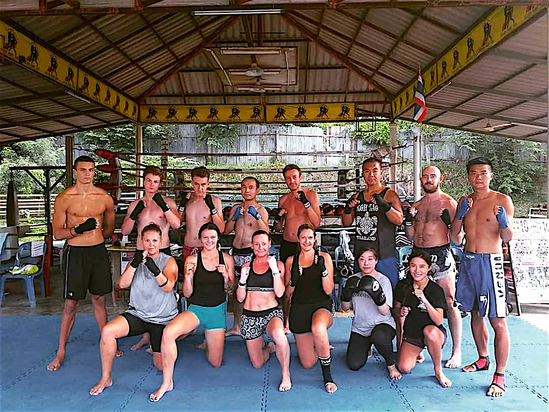 www.thefunkyturtle.com muay thai thailand