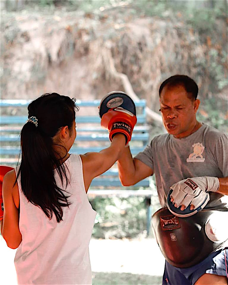 www.thefunkyturtle.com muay thai training koh tao