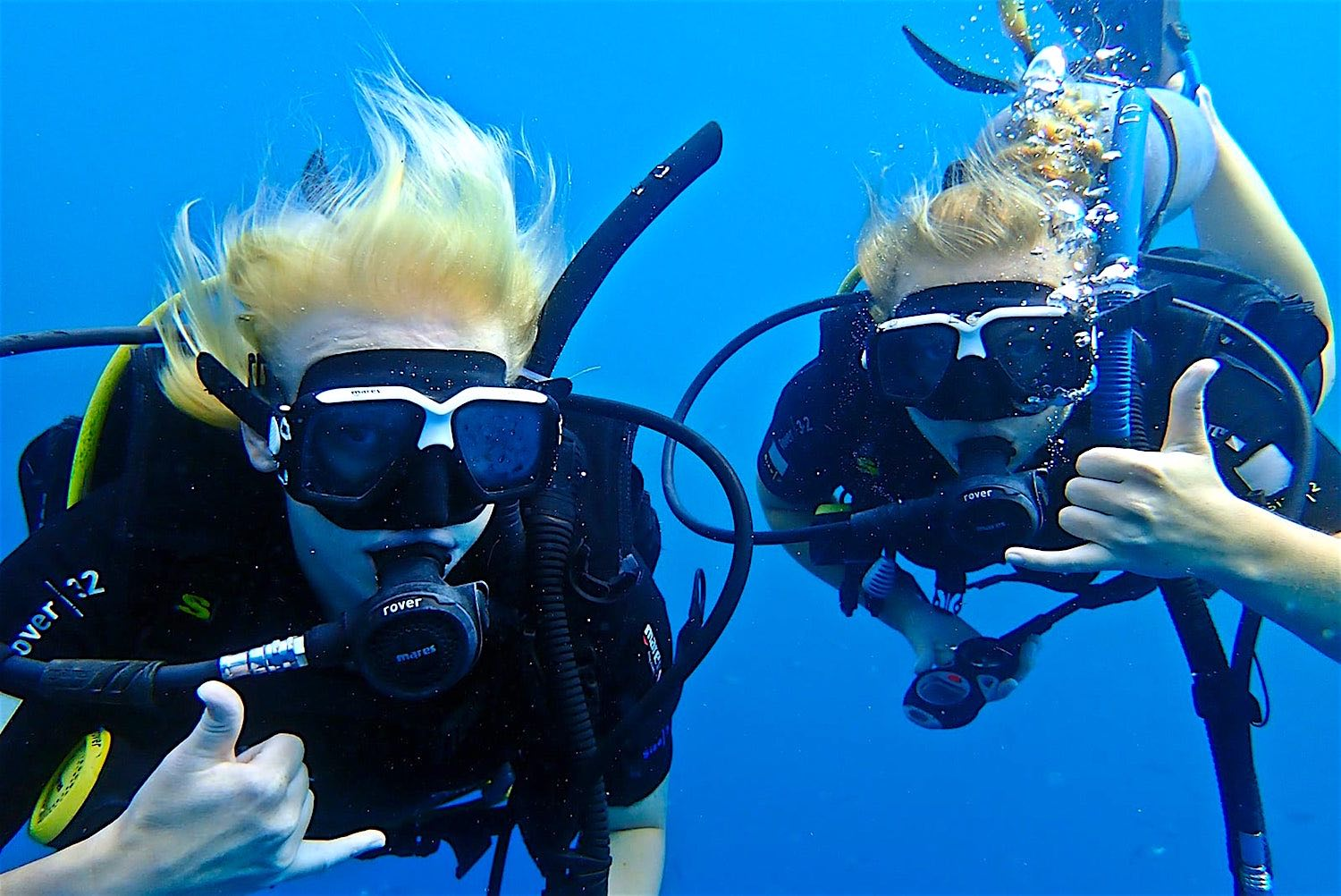 www.thefunkyturtle.com scuba diving fun courses koh tao