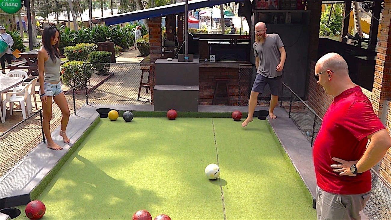 thefunktyurtle.com koh tao leisure park footpool court activities