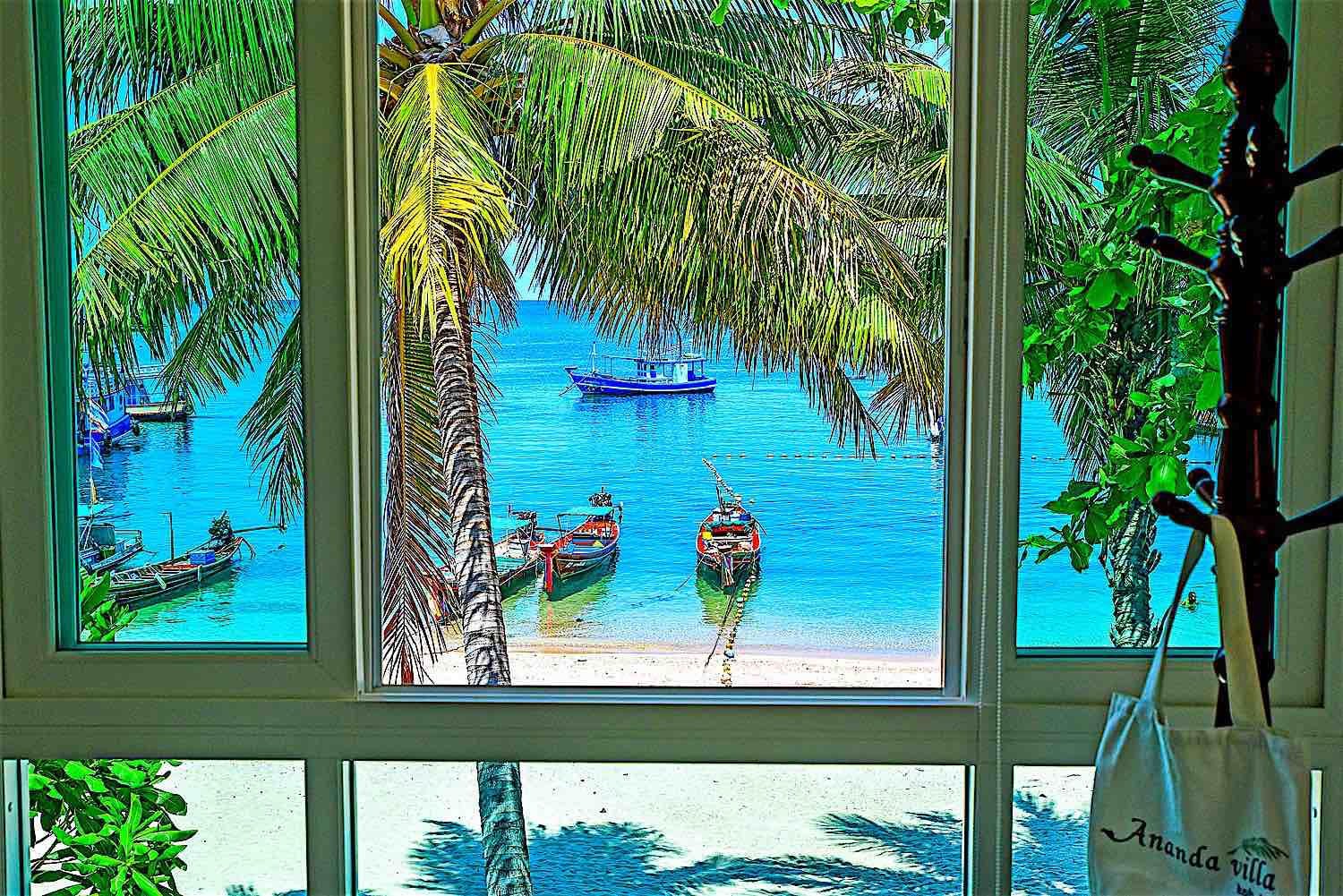 www.thefunkyturtle.com ananda villa hotel koh tao seaview rooms