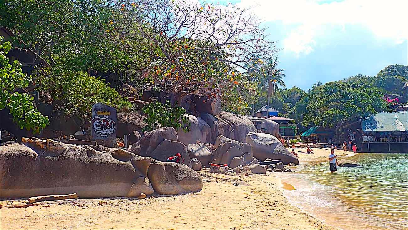 www.thefunkyturtle.com best beaches sainuan koh tao