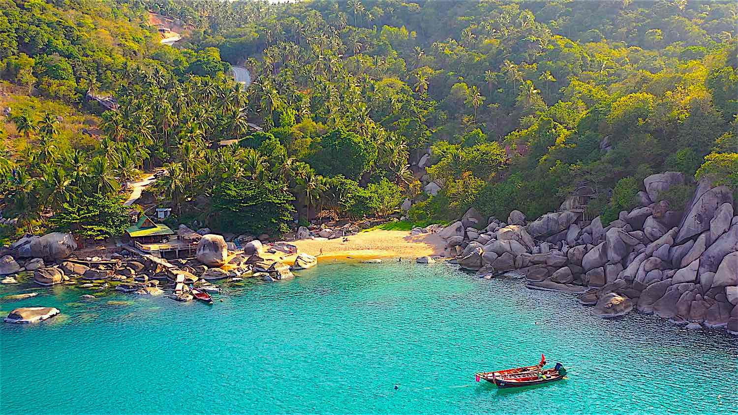 www.thefunkyturtle.com best of hin wong bay on koh tao