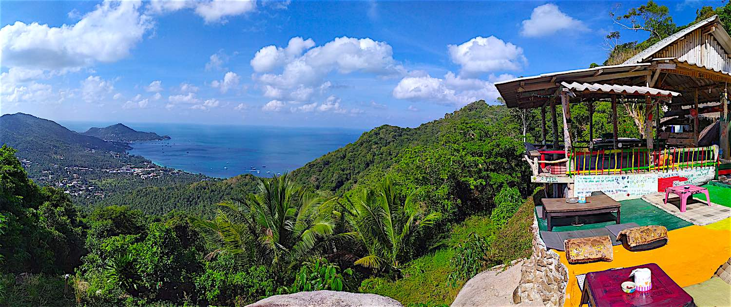 www.thefunkyturtle.com best views Mango-Viewpoint-koh tao