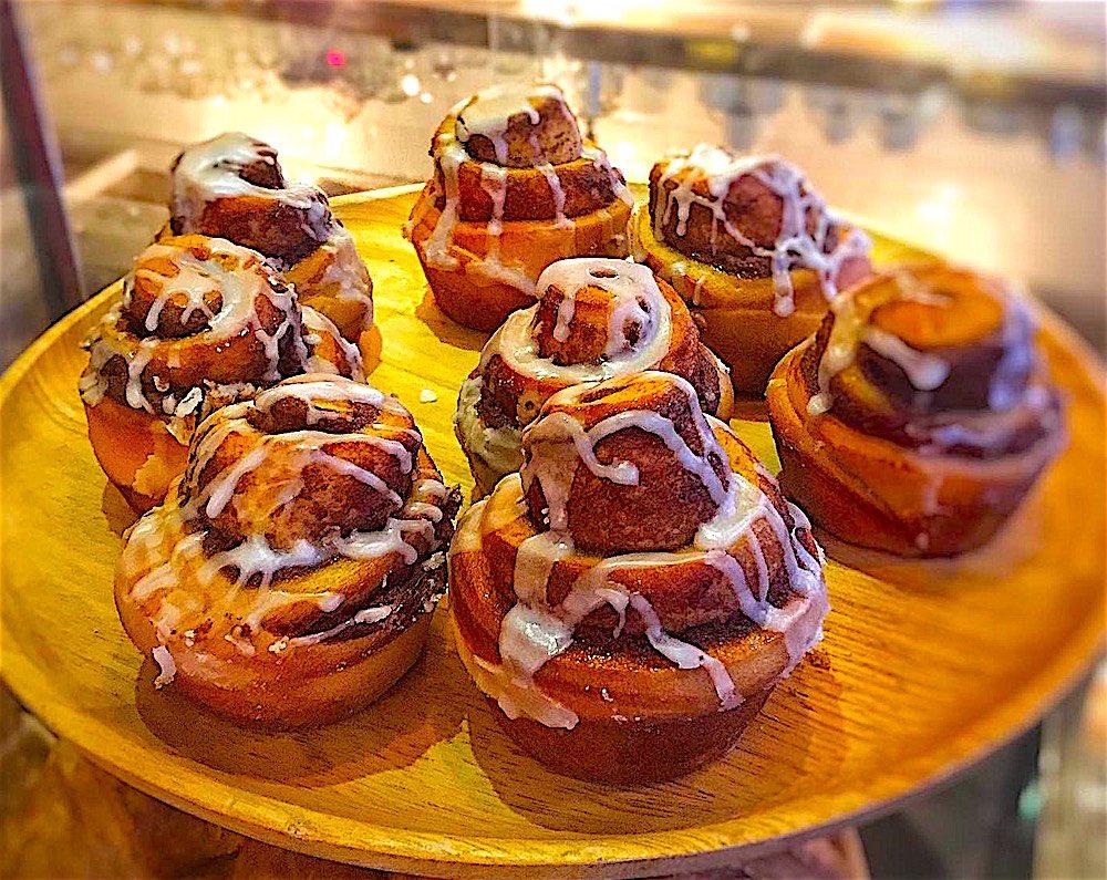 www.thefunkyturtle.com cinnamon tarts at nui bakery koh tao