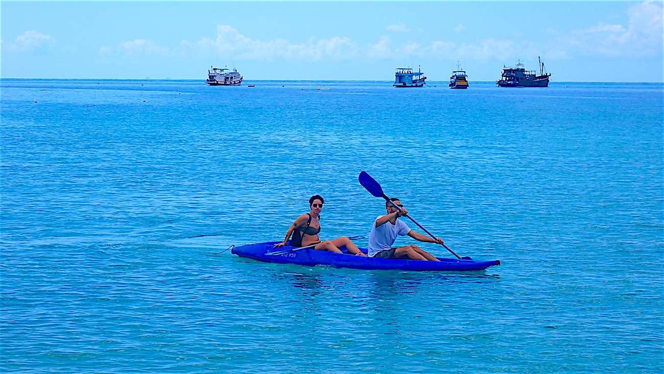 www.thefunkyturtle.com kayak saideng beach