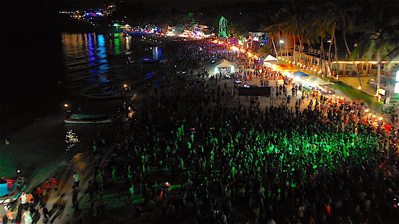 www.thefunkyturtle.com koh phangan full moon party