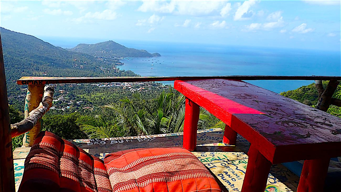 www.thefunkyturtle.com relax at mango viewpoint-koh tao
