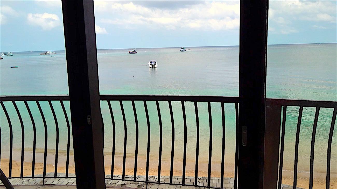 www.thefunkyturtle.com seaview hotel on koh tao