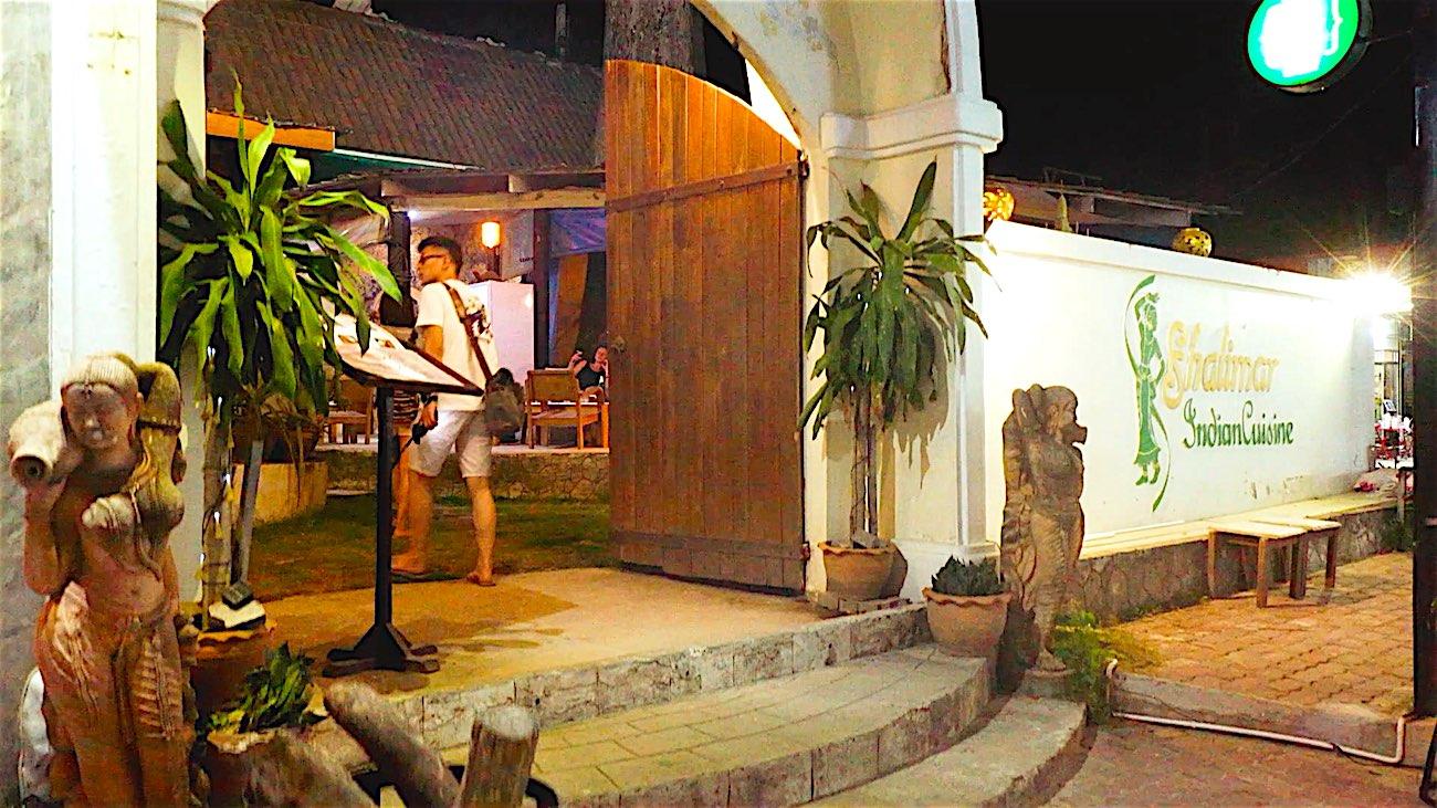 www.thefunkyturtle.com shalimar indian restaurant koh tao thailand