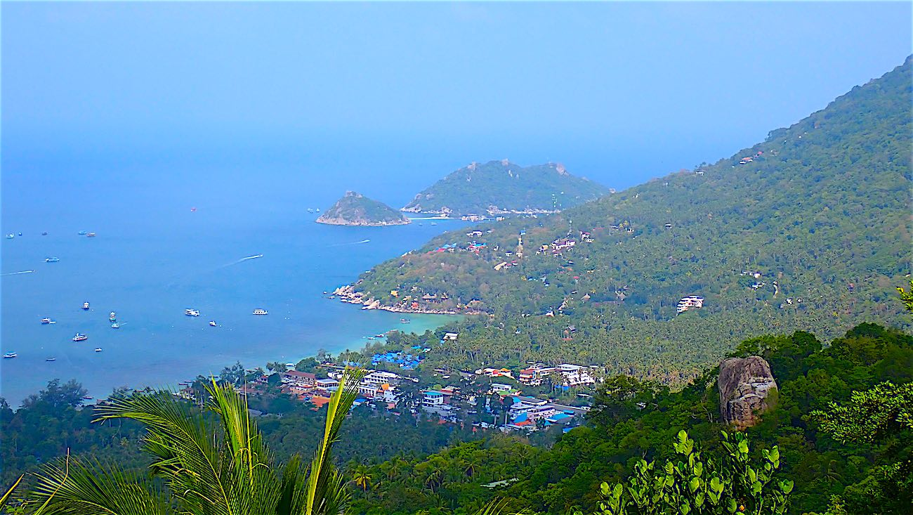 www.thefunkyturtle.com the best west coast viewpoint on koh tao