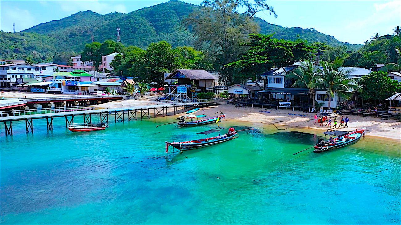 www.thefunkyturtle.com utopia guesthouse koh tao mae haad beach
