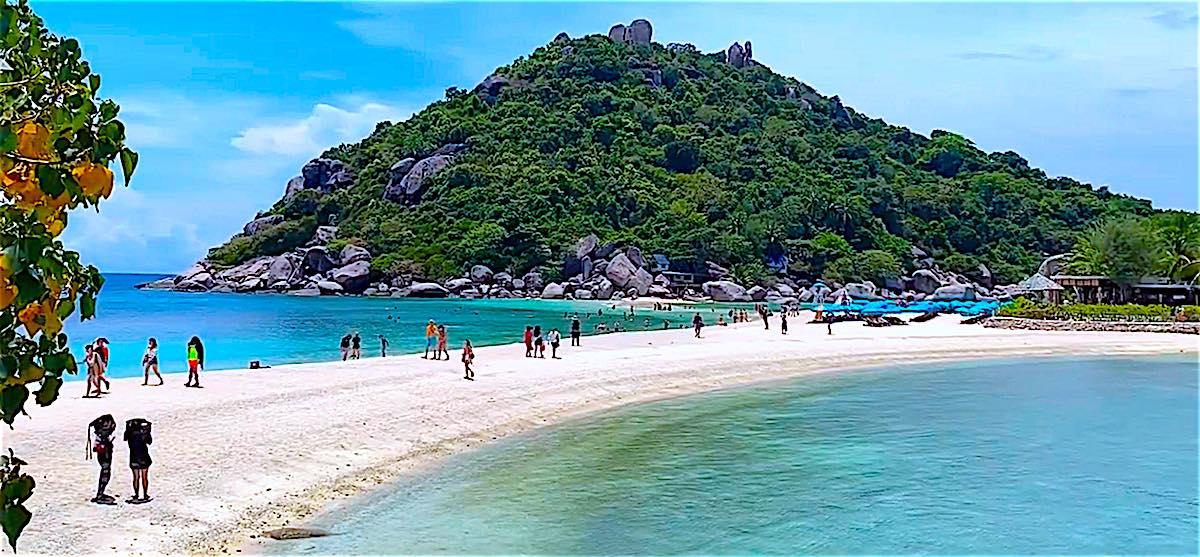www.thefunkyturtle.com visit koh nangyuan beach