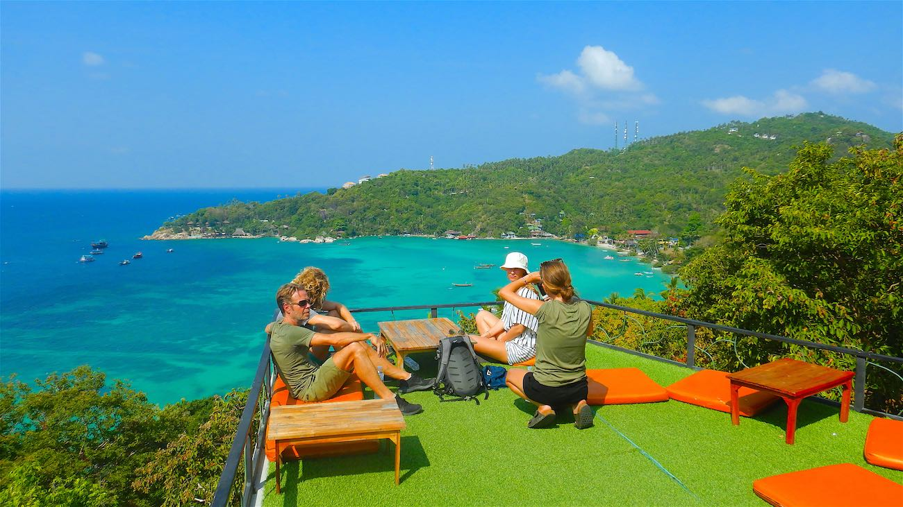 www.thefunkyturtle.com amazing views at sun suwan 360 bar and viewpoint koh tao