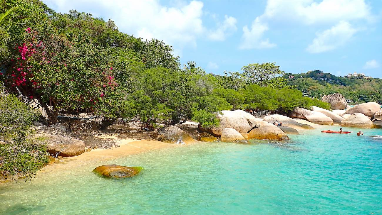 www.thefunkyturtle.com beautiful beaches koh tao saan jao beach