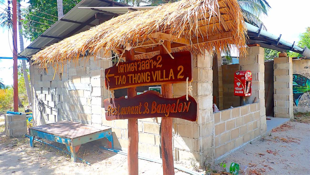 www.thefunkyturtle.com bungalows at tao thong beach koh tao