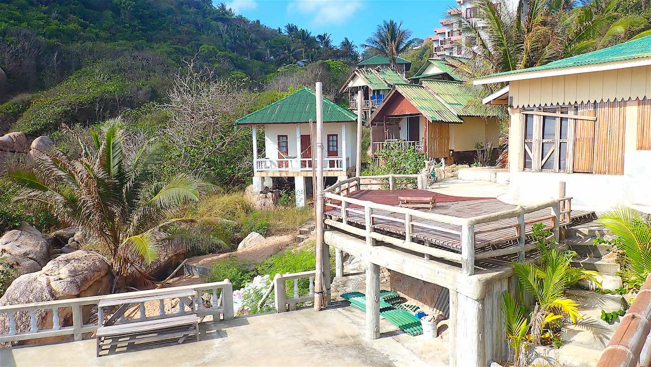 www.thefunkyturtle.com bungalows available at lang khai bay koh tao