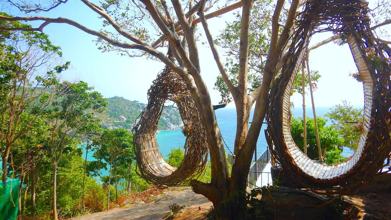 www.thefunkyturtle.com jungle sun suwan 360 bar and viewpoint koh tao
