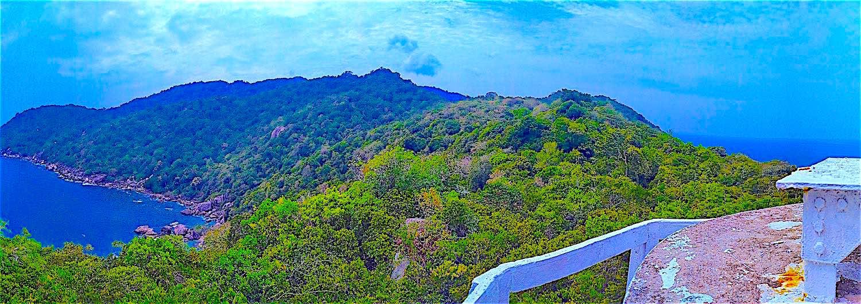 www.thefunkyturtle.com lighthouse bay on ko tao island