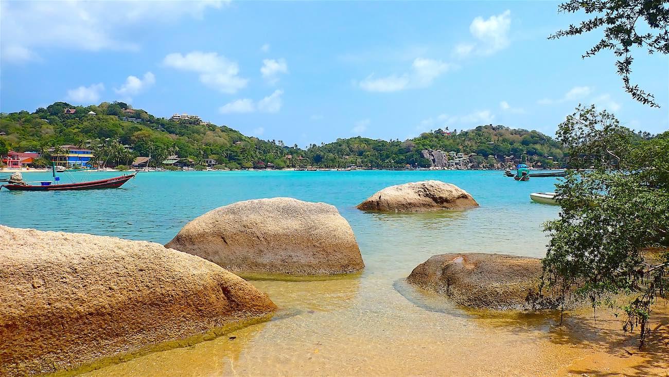 www.thefunkyturtle.com secluded saan jao beach koh tao