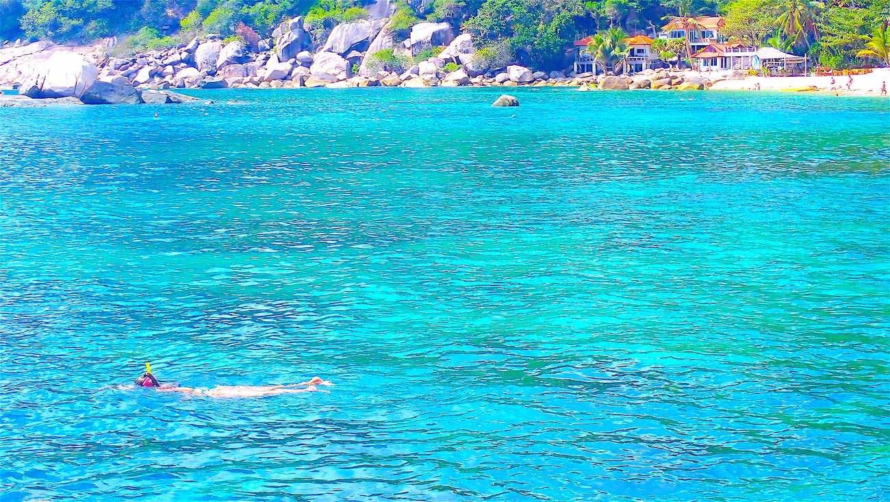 www.thefunkyturtle.com snorkeling tanote beach koh tao
