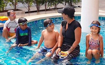 thefunkyturtle.com swimming lessons on koh tao for everyone