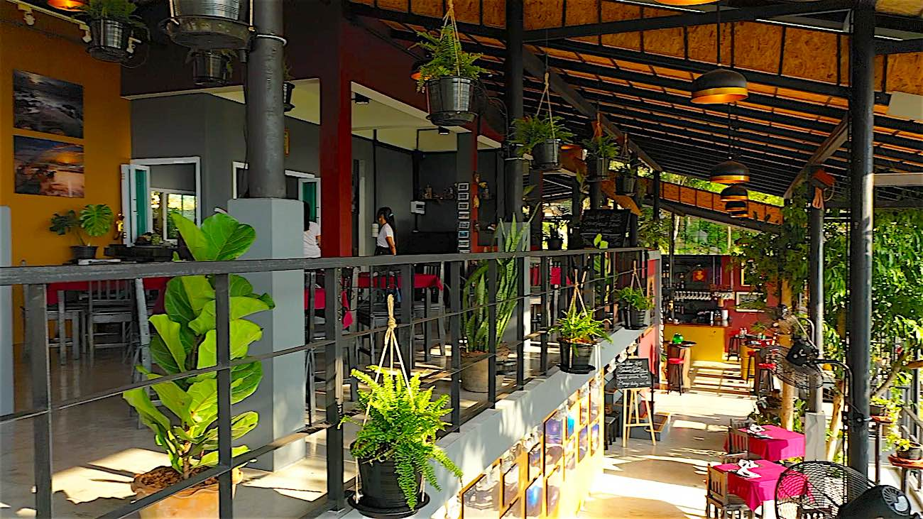 www.thefunkyturtle.com koh tao the gallery thai food restaurant