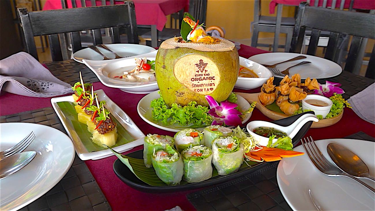 www.thefunkyturtle.com restaurants on koh tao the gallery