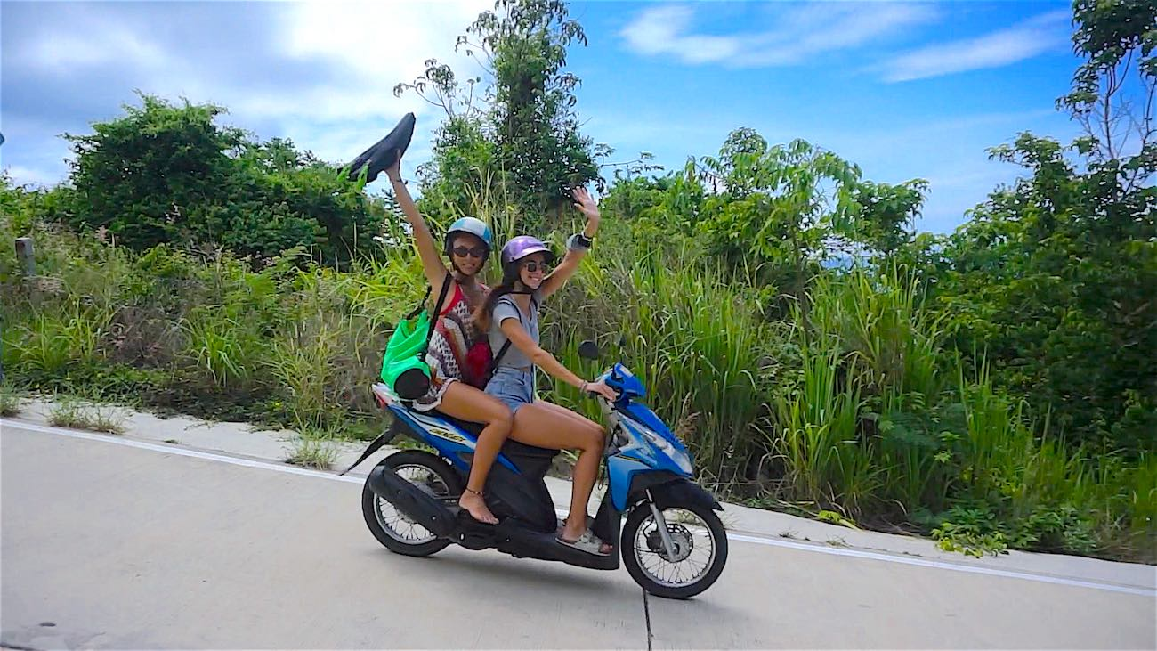 www.thefunkyturtle.com Trusted Scooter Rental Koh Tao