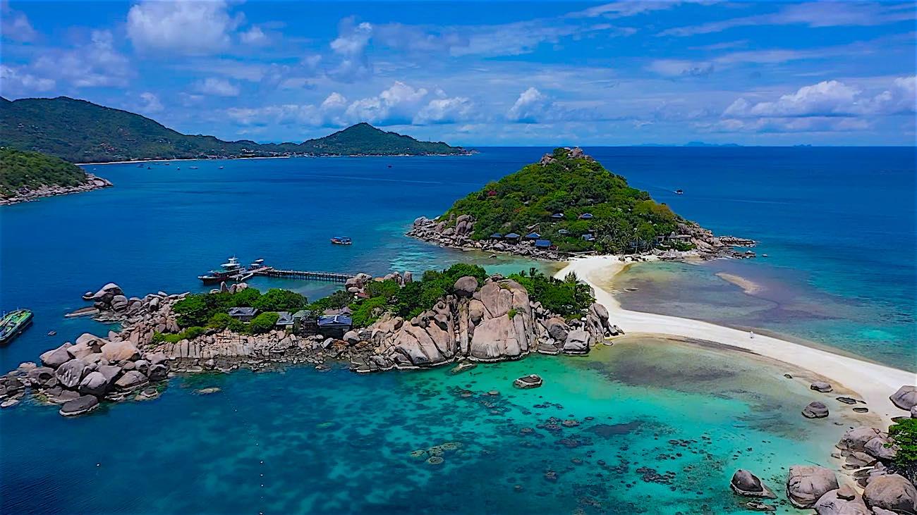 www.thefunkyturtle.com beautiful koh nang yuan island