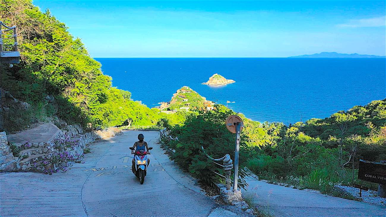 www.thefunkyturtle.com reliable scooter rental koh tao