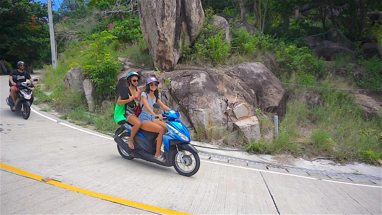www.thefunkyturtle.com scooter rental koh tao stay safe