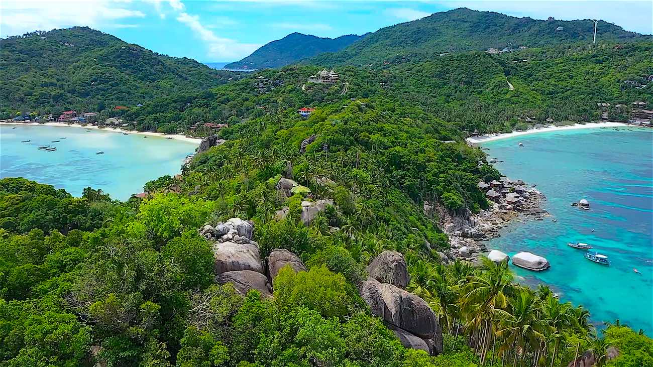 thefunkyturtle.com best things to do koh tao sairee beach to john suwan rock